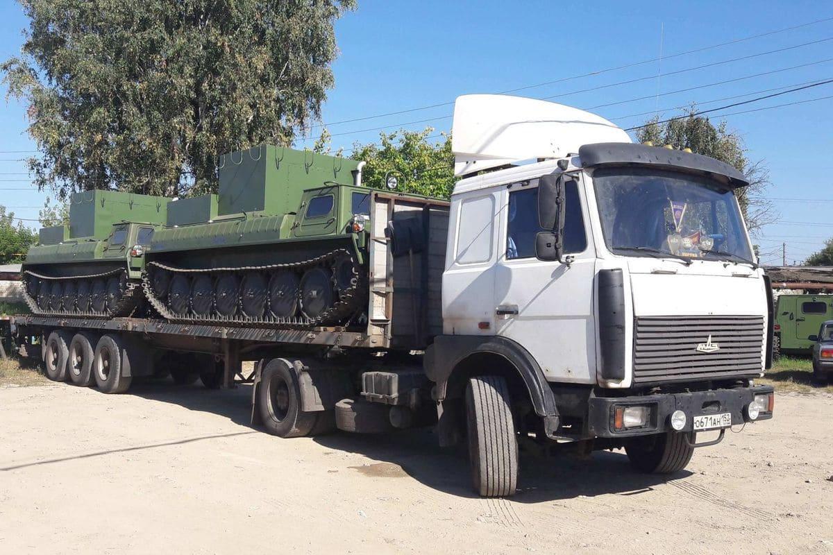 ГАЗ-34039 отгрузка автотранспортом