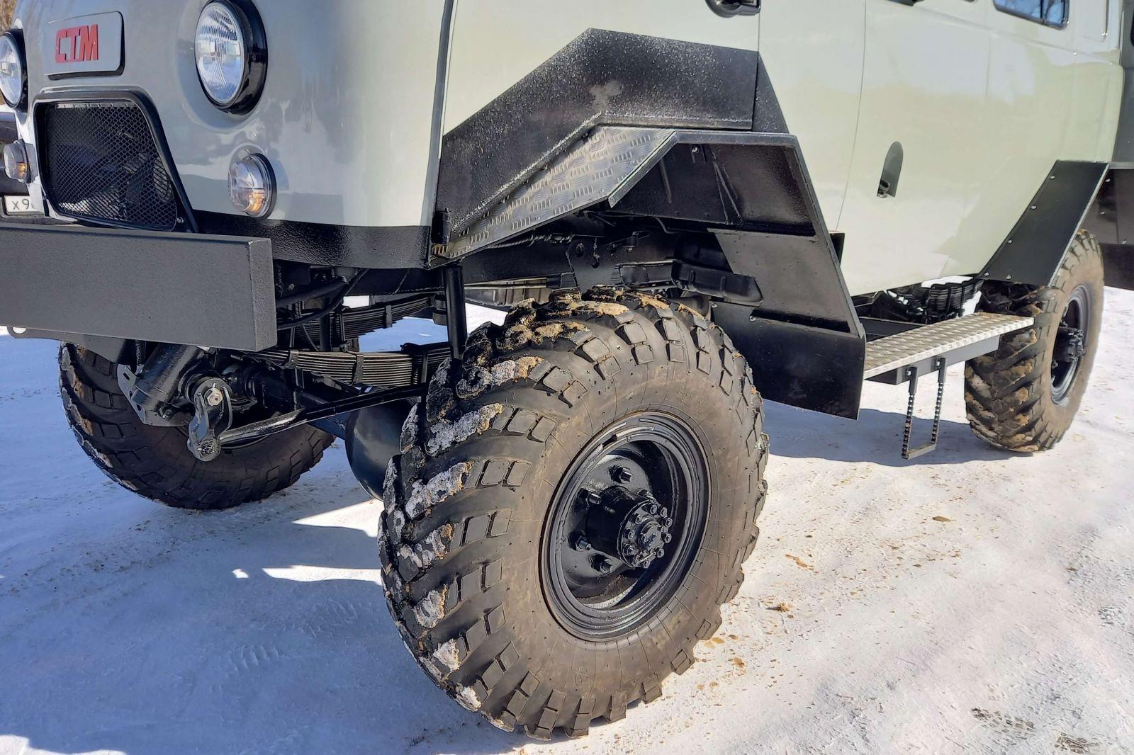 Вездеход на колёсах ГАЗ-66