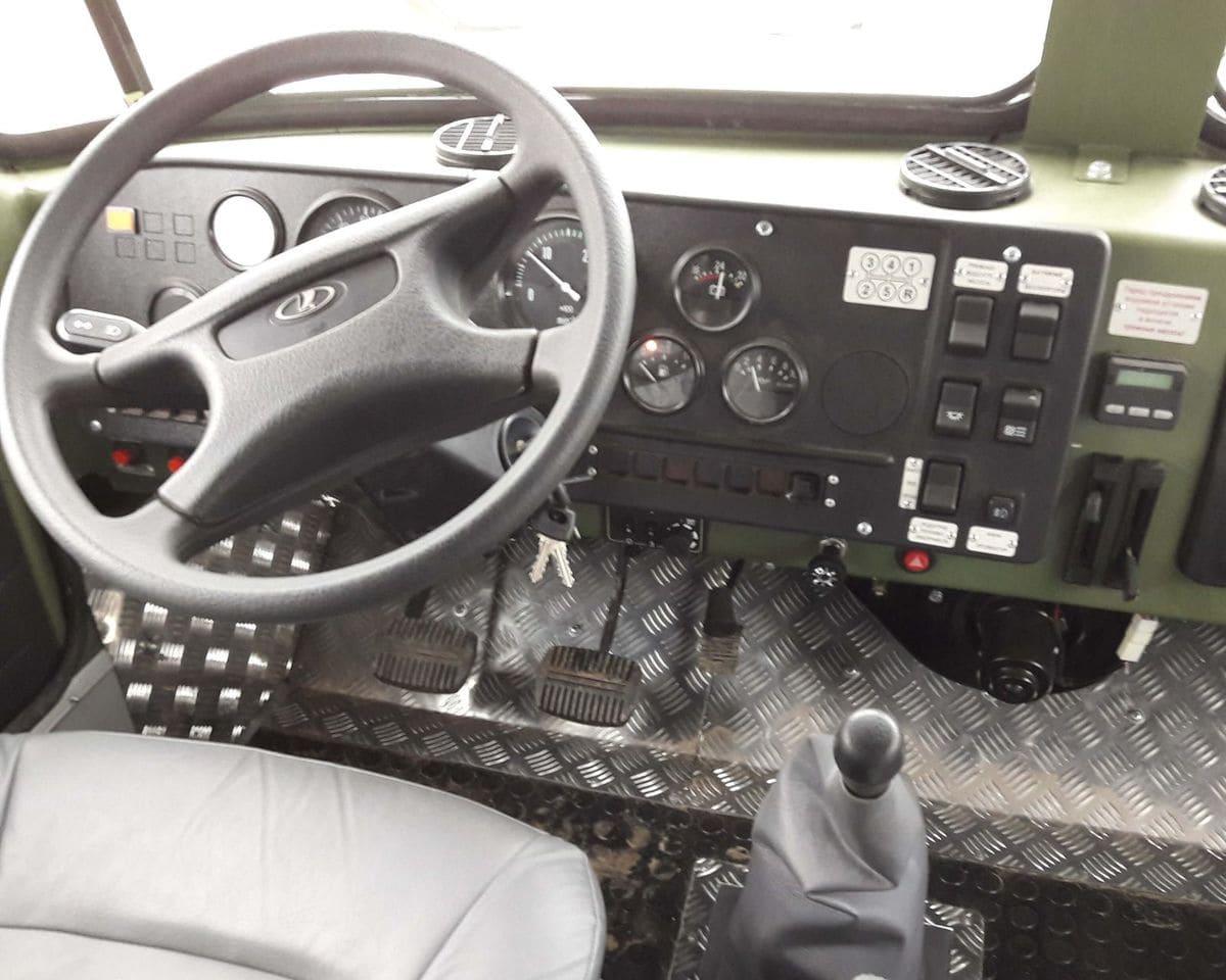 Управление поворотом с помощью рулевого колеса
