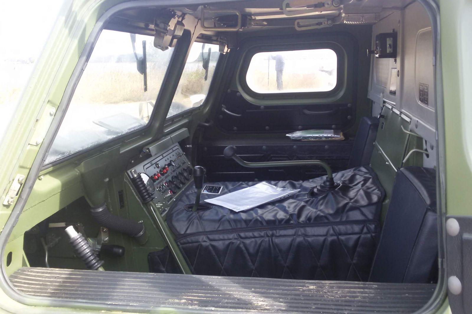 2-ух местная кабина ГАЗ-34039
